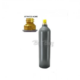 Bombola Co2 in alluminio ricaricabile 1Kg. - H 370 D 90 ATT. ACME
