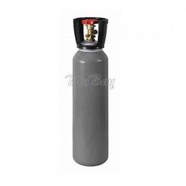 Bombola Co2 in acciaio ricaricabile 10Kg. con valvola residuale ( qt. residua 100gr.) - H 660 D 175