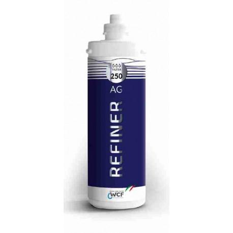 Filtro Refiner Ag 250 Microfiltrazione battericida con capacità filtrante a 0,5 micron