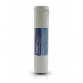 """Filtro in Linea carbone attivo granulare (GAC) 1/4"""" FPT 2,5""""x12"""""""