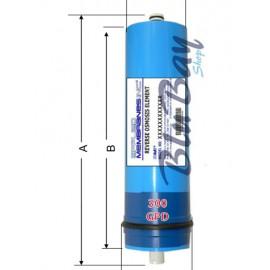 Membrana Osmotica da 300 Gpd utilizzabile per tutti i vessel 3012 produzione giornaliera 1100 litri.