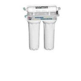 Impianto a microfiltrazione composto da 3 stadi filtranti completo di kit d'installazione