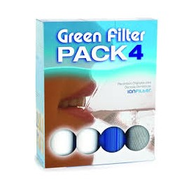 Green Filter Pack set 4 cartucce ricambio 9-3/4''