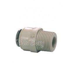 """Terminale diritto Ø tubo - filetto NPTF 5/16"""" X 3/8 (PM010823S)"""