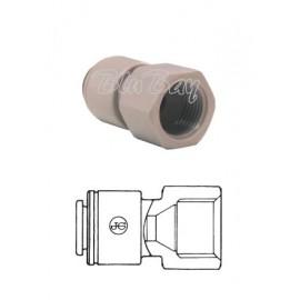 """Terminale diritto femmina Ø tubo - filetto BSW whitworth 5/16"""" X 1/2"""" (PM4508E5S)"""