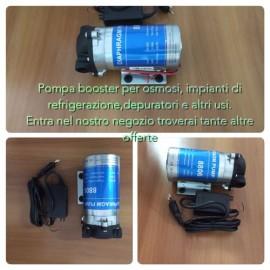 Pompa booster UP-8000/36VDC completa di trasformatore