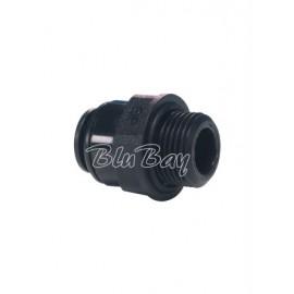 Terminale diritto Ø tubo - cilindrico BSP 8MM X 1/4